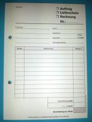 Blocks Lieferschein/Auftrag/Rechnung 2-fach-SD -