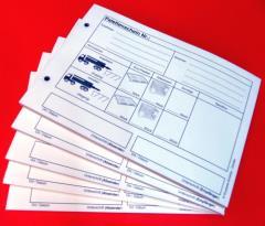Einzelsätze Palettenschein - Lademittelnachweis 4-fach-SD -