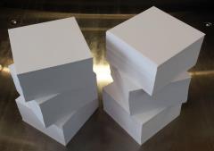Notizzettel 9 x 9 cm unbedruckte lose Blätter für Zettelbox -