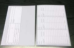 Patientenkarteikarten - Karteikarten Grau HKS 93N -