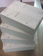 Quittung/Rechnung  - einfach DIN A6 - Hochformat - 100 Blatt -
