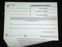 Quittungen - 2-fach - DIN A6 quer - 40 Satz -