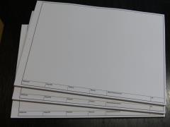 TZ-Arbeitsblätter - technisches Zeichenpapier DIN A3 -