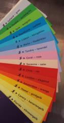 Tonkarton blanko - 160g/m² - DIN A4  - Coral-rosa -